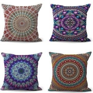 NWOT!! 4 Decorative boho Pillow 🙌🏻😍